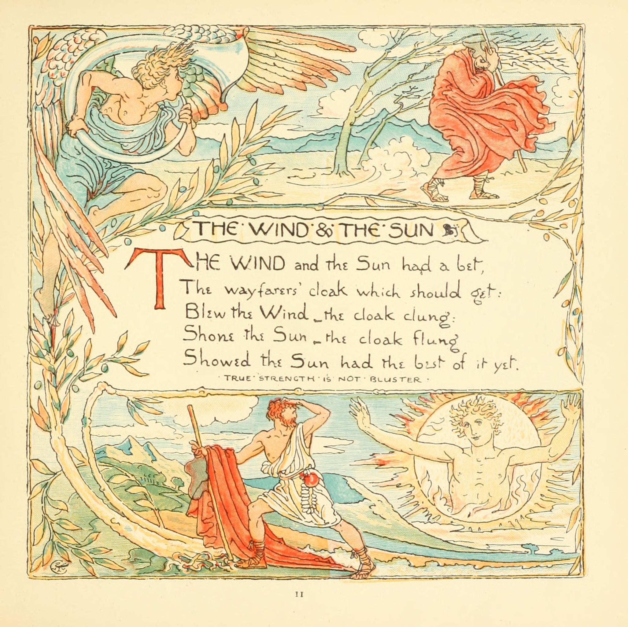 イソップ童話「北風と太陽」の教訓を脳科学やらで分析してみた。