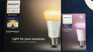 Philips hue レビュー 電球