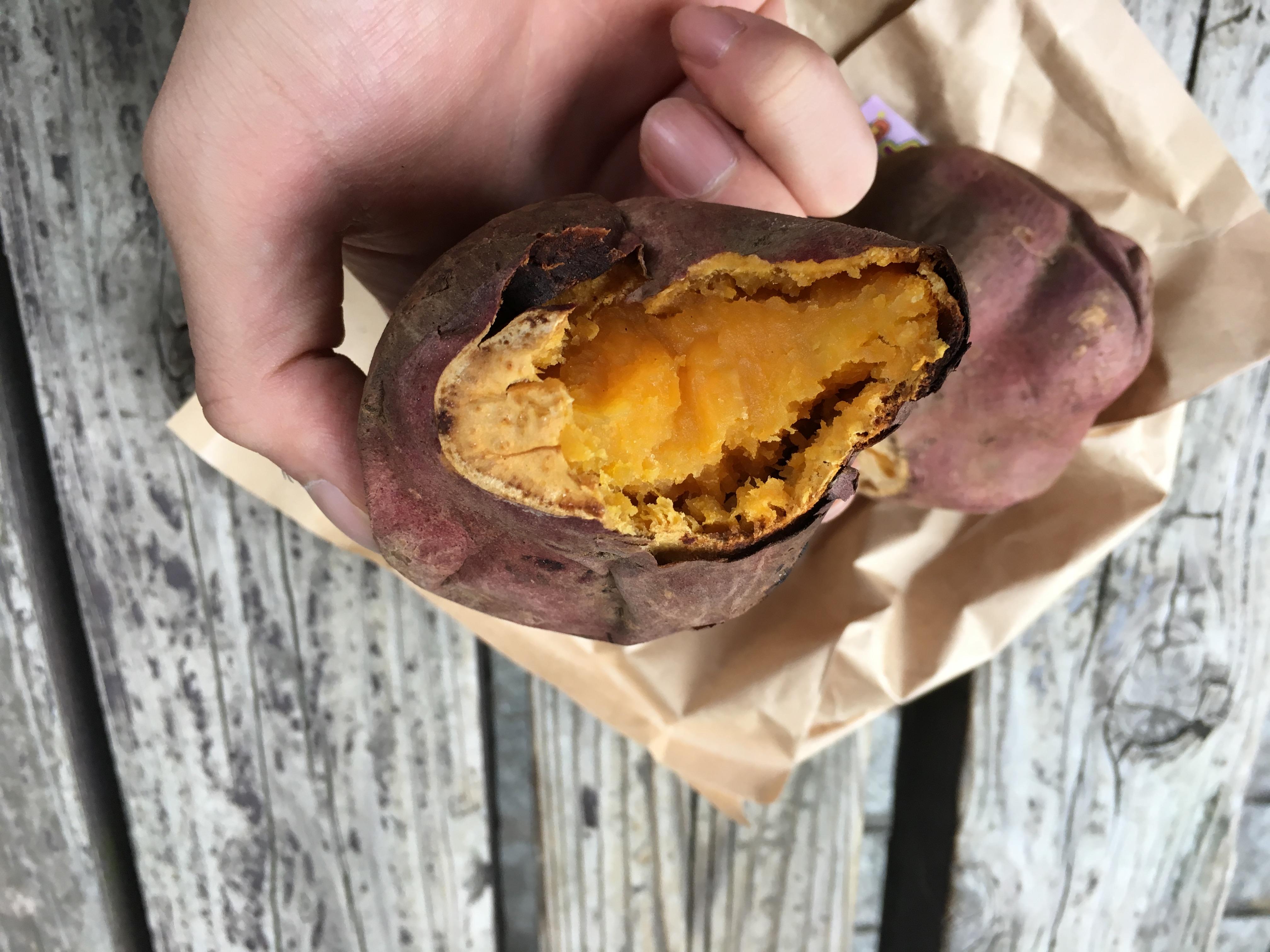 ハロウィンスウィート 焼き芋