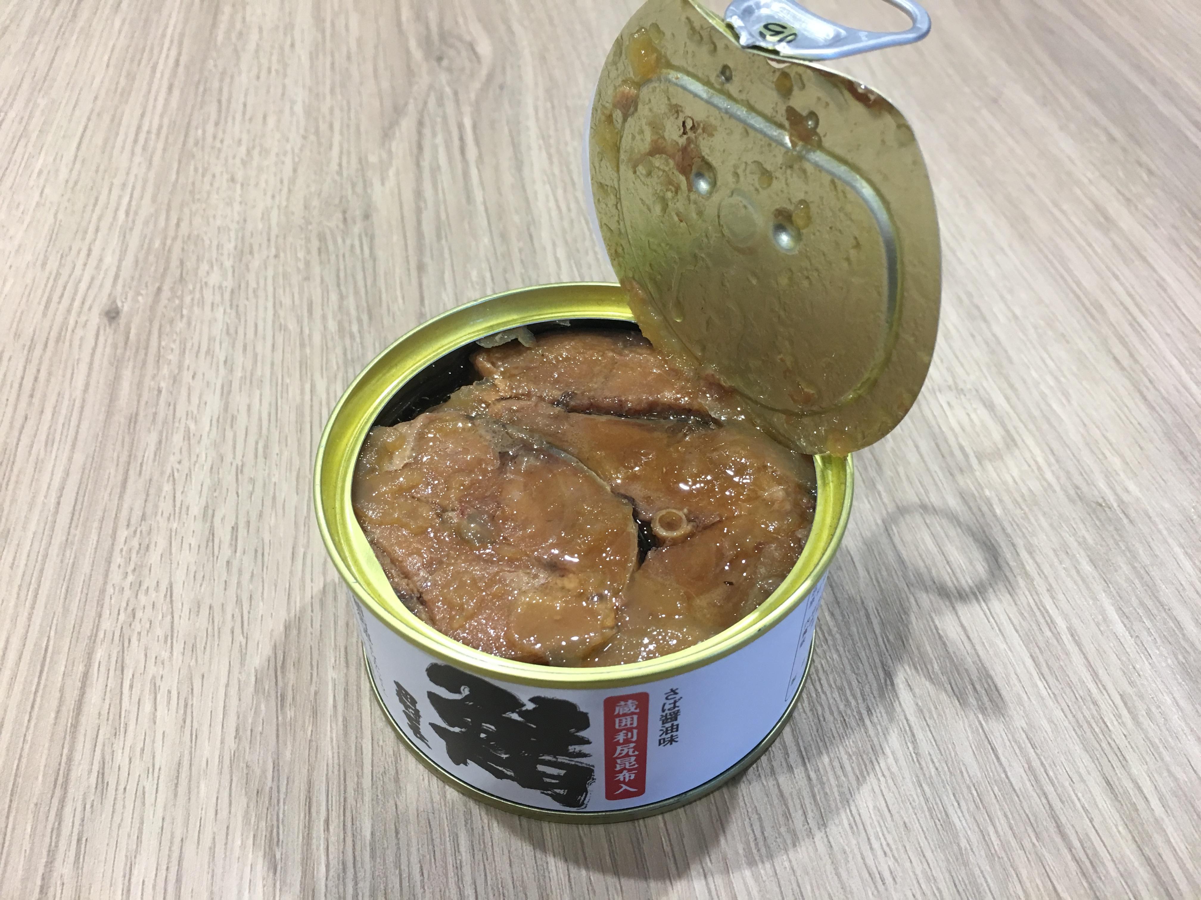 田村長 鯖缶 醤油味