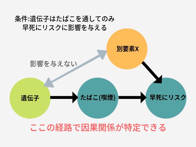 メンデルランダム化試験 図 条件
