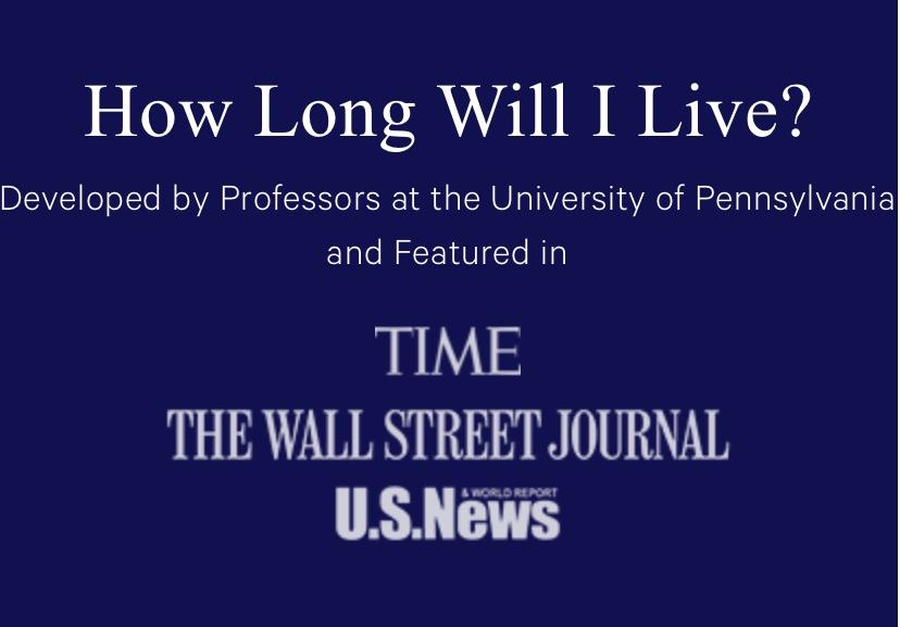 たった数問に答えるだけ!ペンシルバニア大学が発明した「寿命カリキュレーター」を使ってみた。