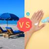 【ビーチパラソル vs 日焼け止め】どちらがお肌を紫外線から守ってくれるのか?