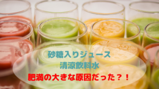砂糖 ジュース 清涼飲料水 太る 肥満