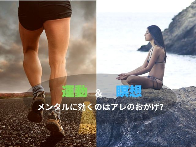 運動 瞑想 メンタル マインドフルネス