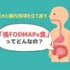 荒れ果てた腸内環境の救世主「低FODMAPs食」のNG食品・OK食品一覧