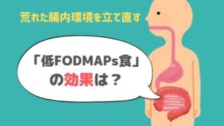 FODMAPs 腸内環境 食品 IBS 腸過敏性症候群