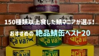 150種類以上を食べた鯖缶マニアが選ぶ!おすすめの絶品さば缶ランキングベスト20