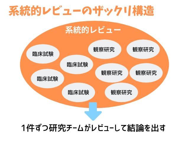 系統的レビューとメタ分析の違いとは?どこまで一緒でどこから違うのか図解してみた
