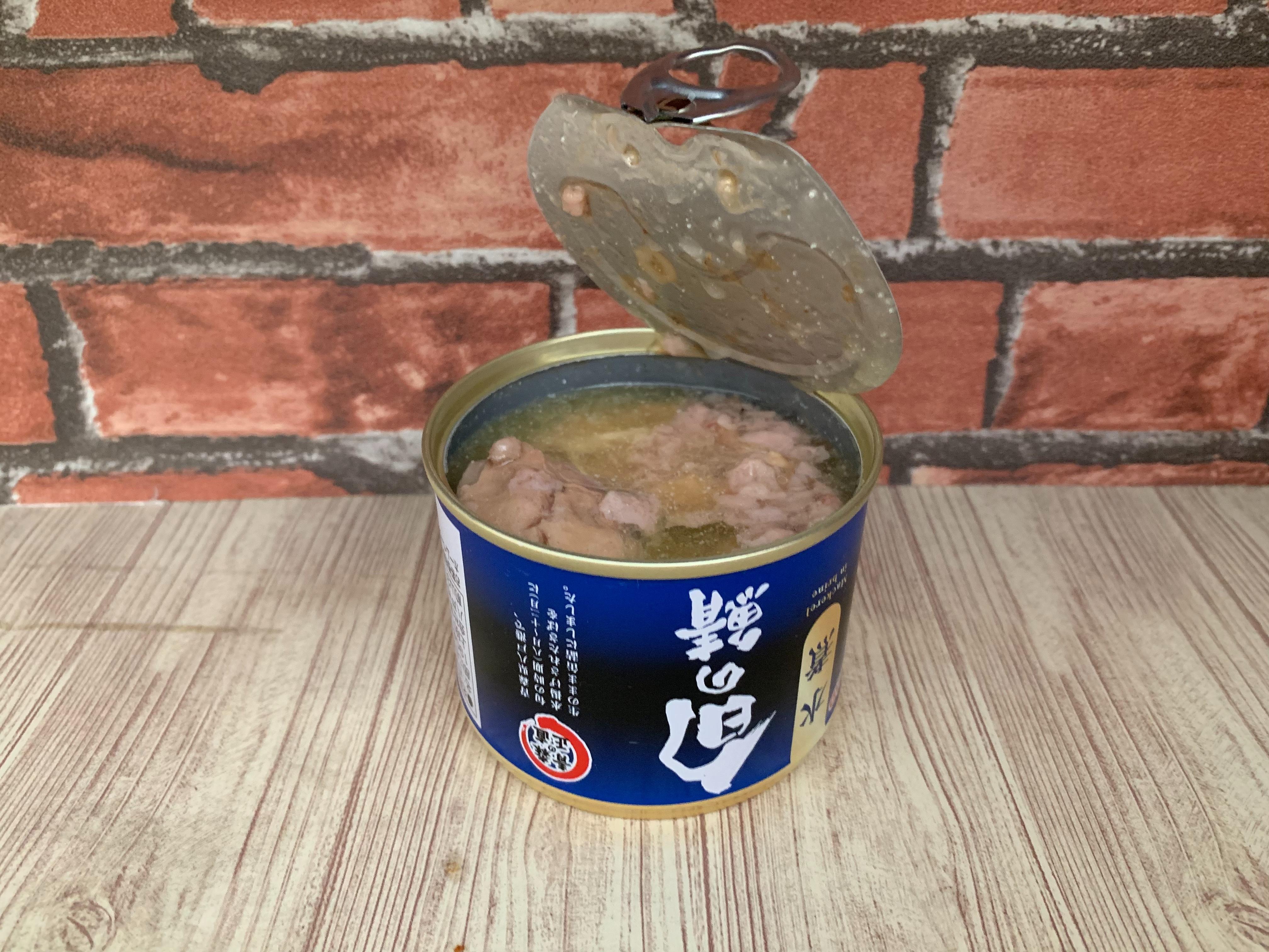 HOKOの八戸港鯖缶「旬の鯖 水煮」を食レポしてみた。【5つ星評価、味】