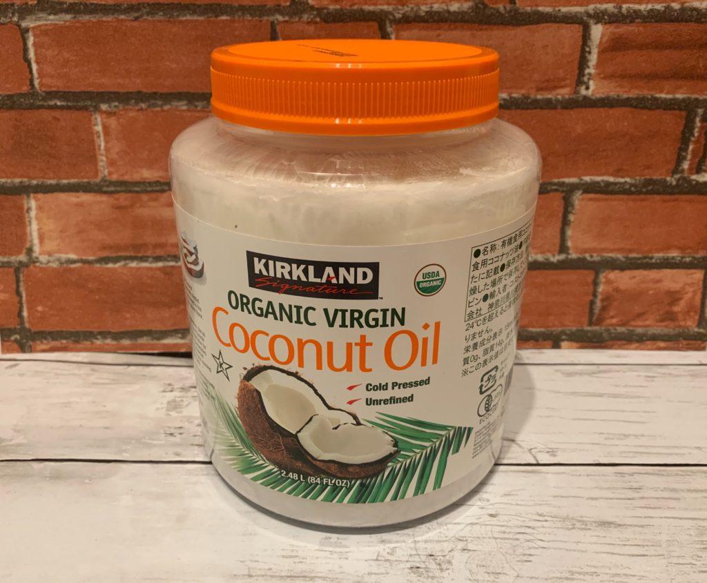 髪をダメージから守るコスパ最強なオイル「カークランド オーガニックバージンココナッツオイル」をレビューしてみた。